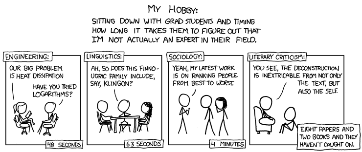 XKCD Imposter