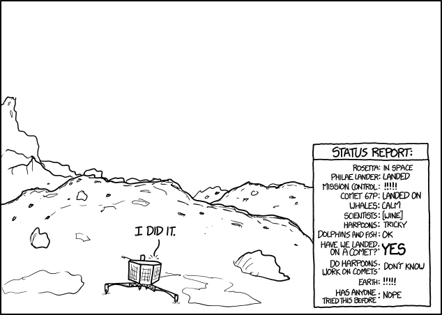 xkcd – The Finch and Pea